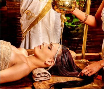 Ayurveda spa treatment